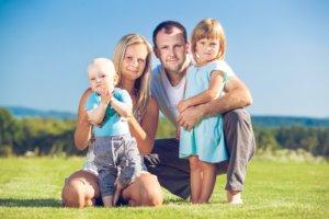 Fotografování celé rodiny