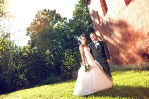 Markéta a Pavel - Svatební fotografie se sluncem